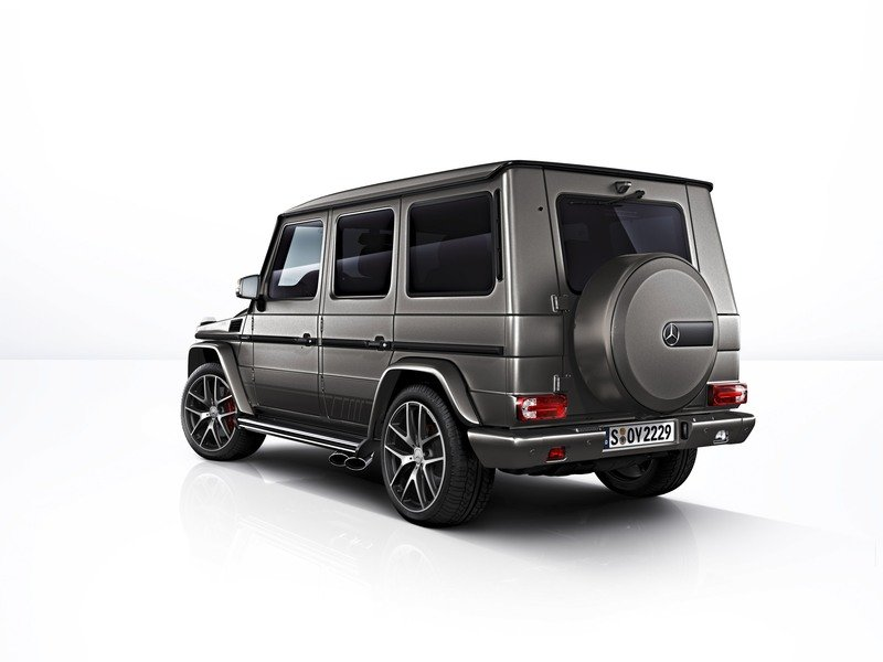 2017 Mercedes-AMG G 63 and Mercedes-AMG G 65 Exclusive Editions High Resolution Exterior - image 729705
