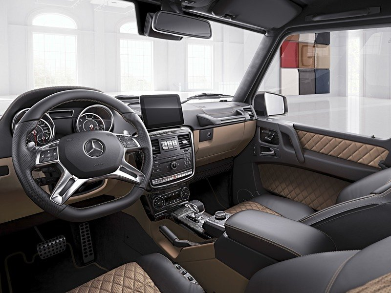 2017 Mercedes-AMG G 63 and Mercedes-AMG G 65 Exclusive Editions High Resolution Interior - image 729707