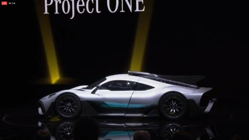 Selective Breeding Brings About an Ugly Supercar – The Mercedes-AMG Project One