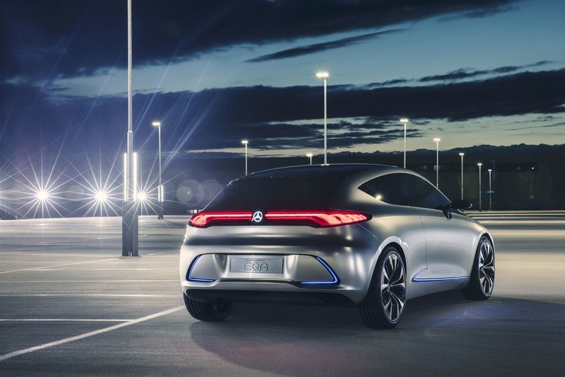 Mercedes Benz Concept Eqa Is An Electric A Class From The Future