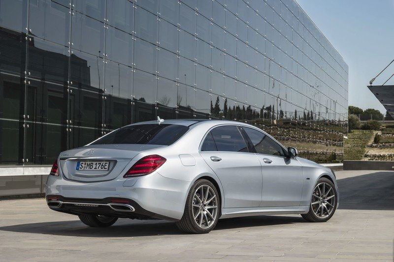 2018 Mercedes-Benz S 560 e Plug-in Hybrid
