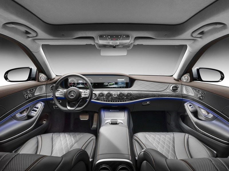 The Mercedes S-Class Family Grows with the Addition of the S 560 e Plug-in Hybrid Interior High Resolution - image 731117