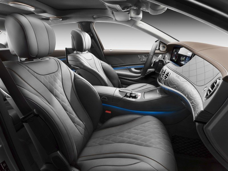 The Mercedes S-Class Family Grows with the Addition of the S 560 e Plug-in Hybrid Interior High Resolution - image 731121