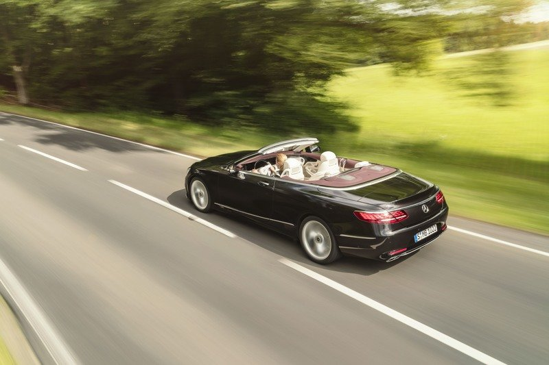 2019 Mercedes-Benz S-Class Cabriolet High Resolution Exterior Wallpaper quality - image 729450