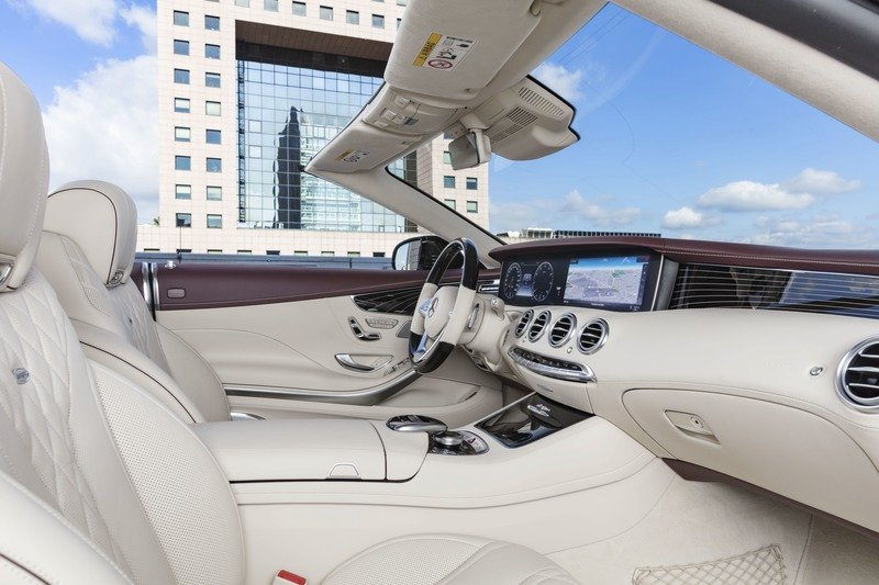 2019 Mercedes-Benz S-Class Cabriolet High Resolution Interior - image 729437
