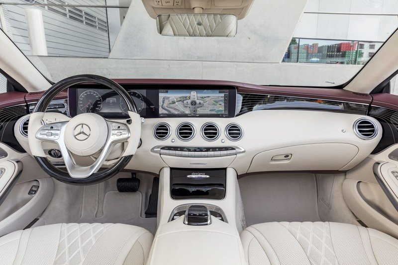2019 Mercedes-Benz S-Class Cabriolet High Resolution Interior - image 729440