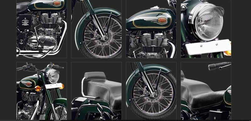 Motorcycles that take you to the black&white era.