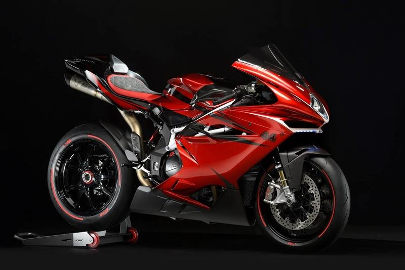 "MV Agusta is bidding adieu to the F4 with a limited ""Claudio"" edition"