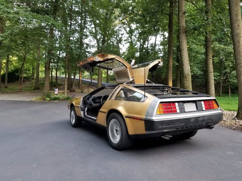 Nobody on eBay Wanted this 1983 DeLorean Plated in 24k Gold
