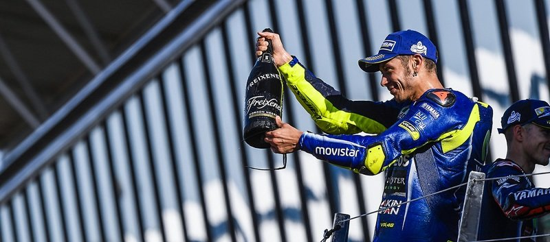 Valentino Rossi gets nominated for the 'Comeback of the Year' award