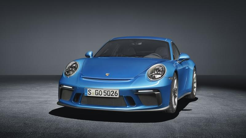 Porsche 911 GT3 Goes Stealth Mode In Frankfurt