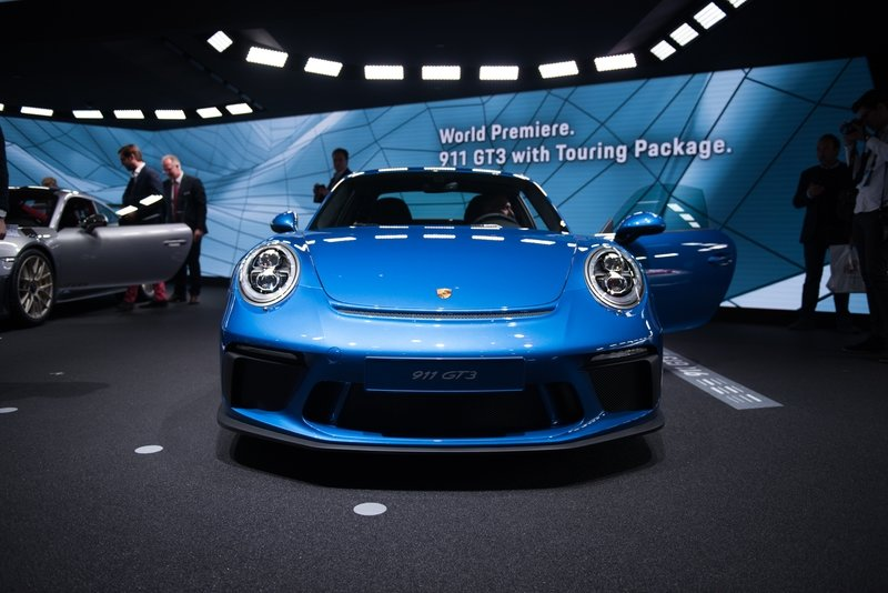 2018 Porsche 911 GT3 with Touring Package