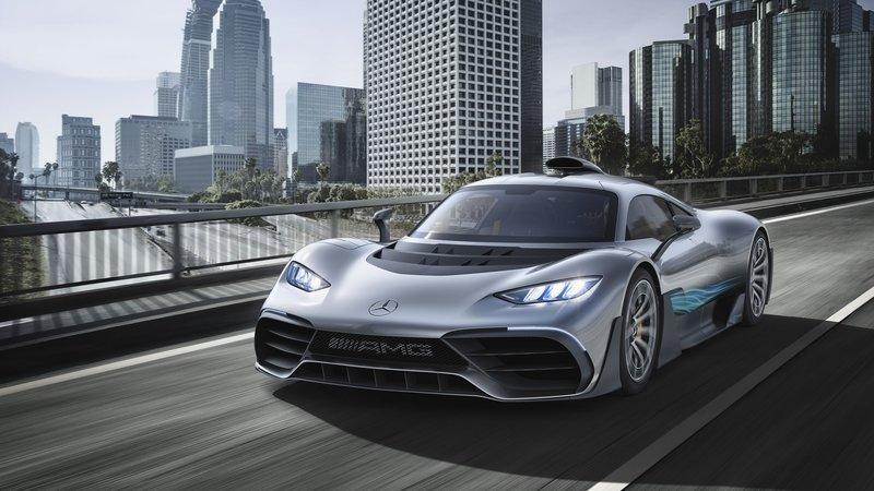 Selective Breeding Brings About an Ugly Supercar – The Mercedes-AMG Project One High Resolution Exterior - image 730653