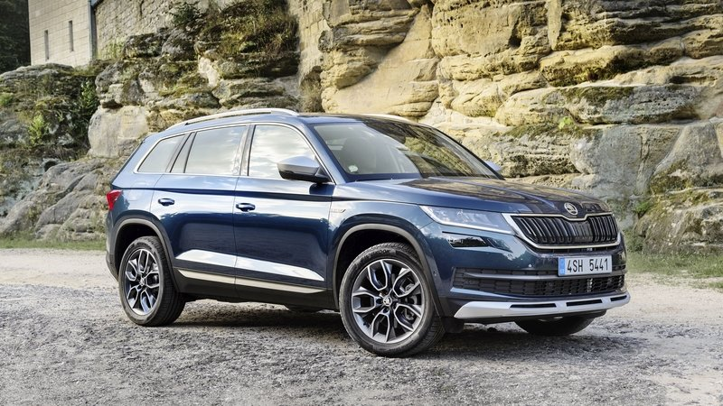 Skoda Kodiaq Scout And Sportline Arrive in Frankfurt