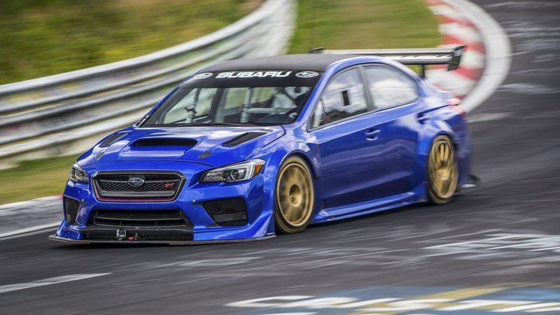 Subaru WRX STI Type RA NBR Special Goes Sub-7 Minutes At The 'Ring: Video