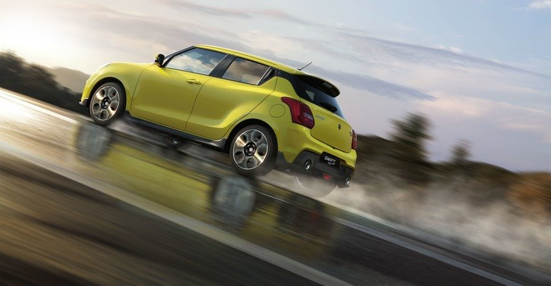 New Suzuki Swift Puts On Aggressive Suit In Frankfurt
