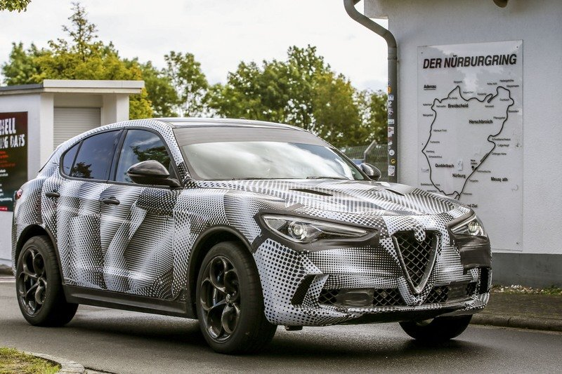 The Alfa Romeo Stelvio Quadrifoglio Just Clawed Its Way On Top Of The Nurburgring Lap Time Records