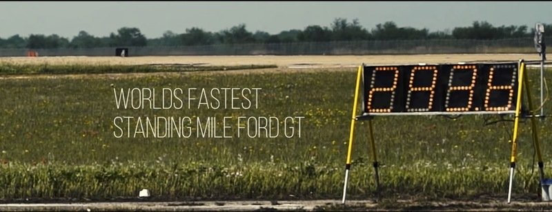 The Fastest Car In The World Is A Ford?!