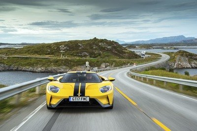 The Ford GT Just Tackled One of The World's Greatest Driving Roads - image 734927