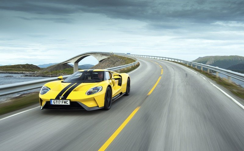 Ford Manages to Ban Mecum from Selling the 2017 Ford GT Without Permission