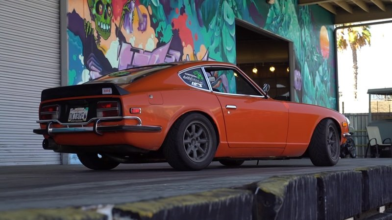 The Hoonigans Check Out A SR20'd 240Z, Nearly Crash: Video