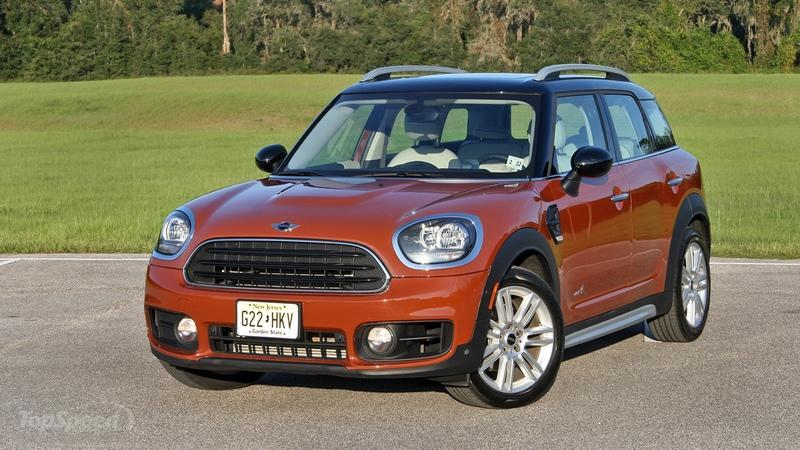 The Mini Cooper Countryman Has The Heart of a Supercar