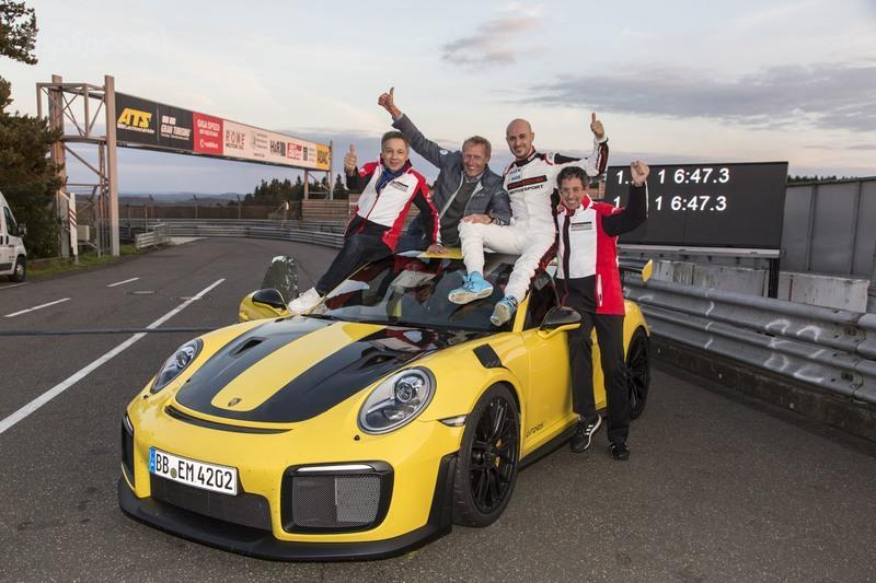 The 911 GT2 RS Lapped the Nurburgring How Fast?