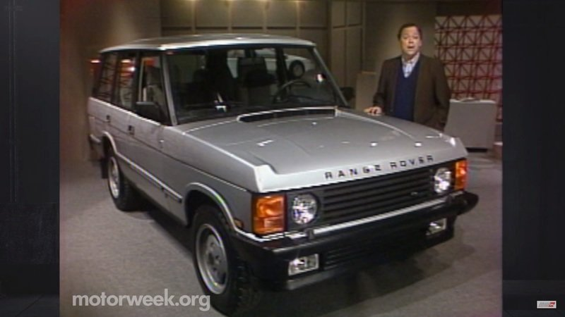 This Was America's First Taste of Range Rover