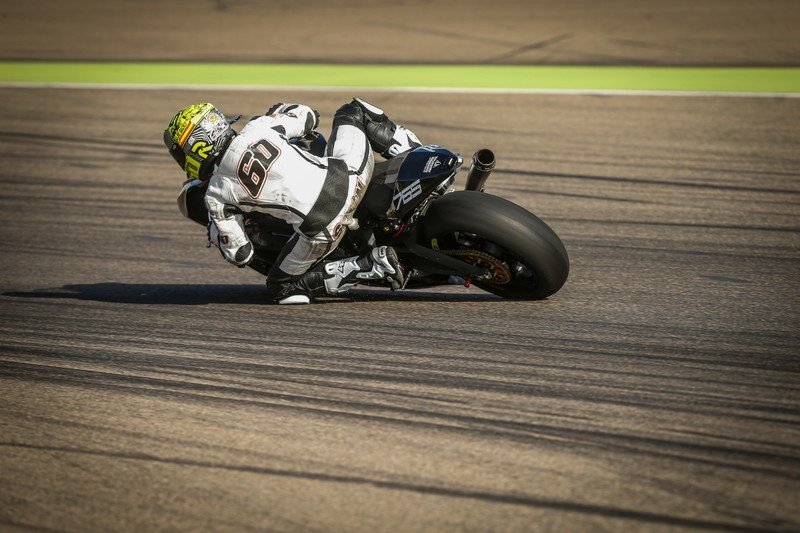 Triumph is blazing guns to get ready for the 2019 Moto2 World Championship.