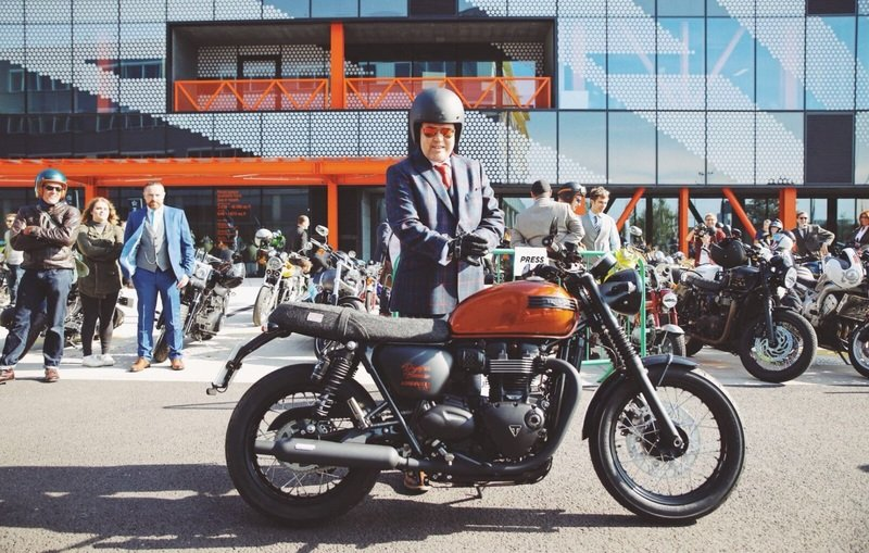 Triumph's special 'Dapper Bonnie DGR100' turns out to be a really special gesture.