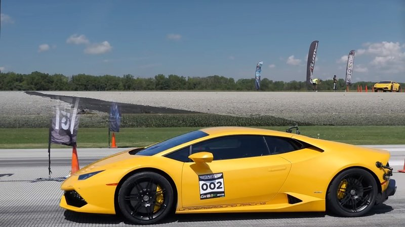 Underground Racing Twin-Turbo Lambo Huracan Goes 257 MPH In Standing Half Mile: Video