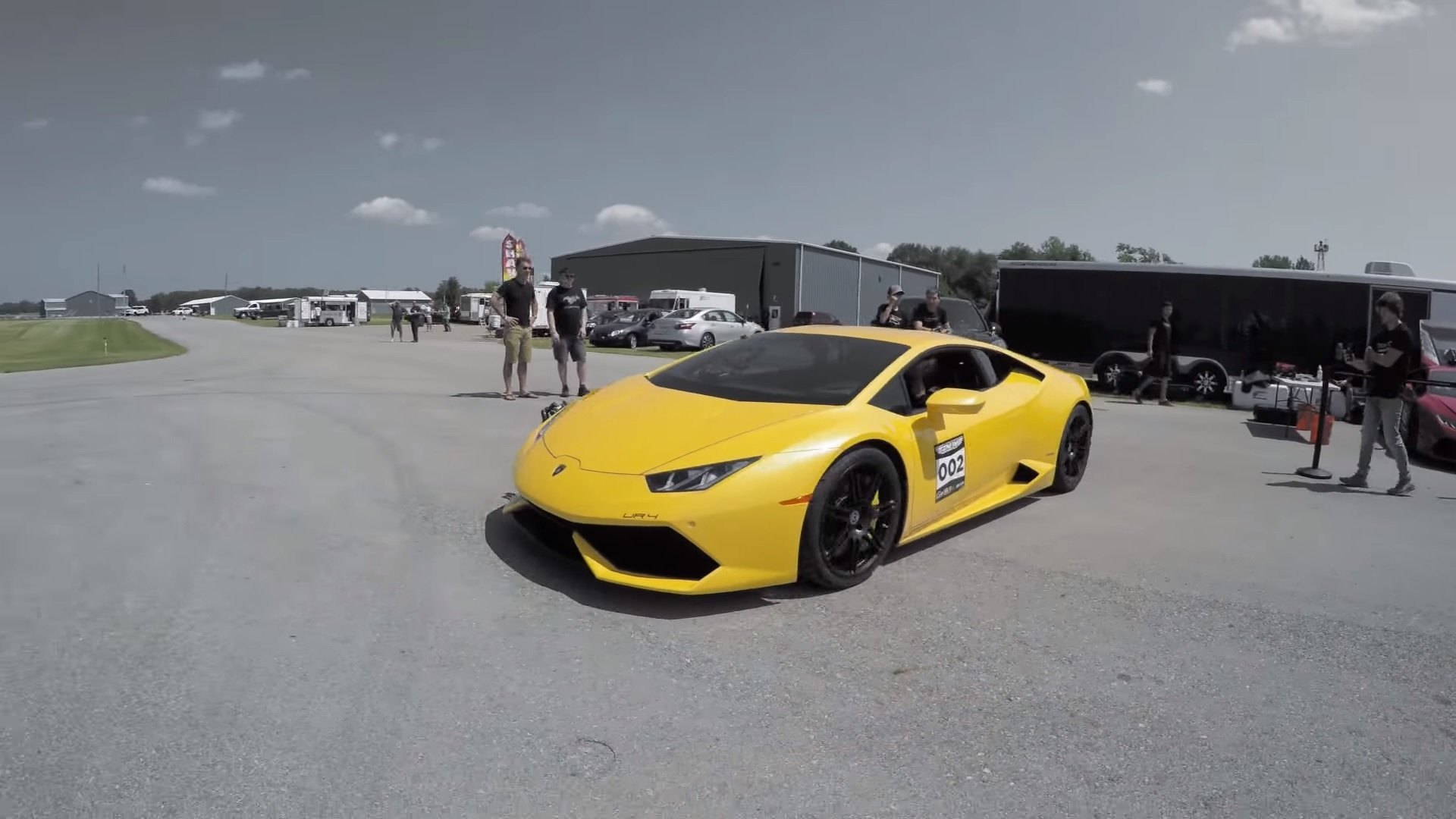 underground racing twin turbo lambo huracan goes 257 mph in standing half mile video top. Black Bedroom Furniture Sets. Home Design Ideas