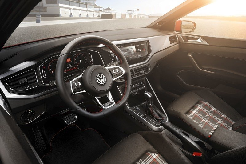 The 2018 Polo GTI is an Attractive Reminder of Why Volkswagen is King of the Hot Hatch Market High Resolution Interior - image 731363