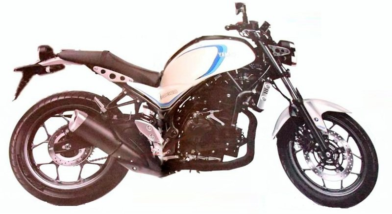 After the XSR 900 and 700, is Yamaha under works with the baby 300? Exterior - image 734680