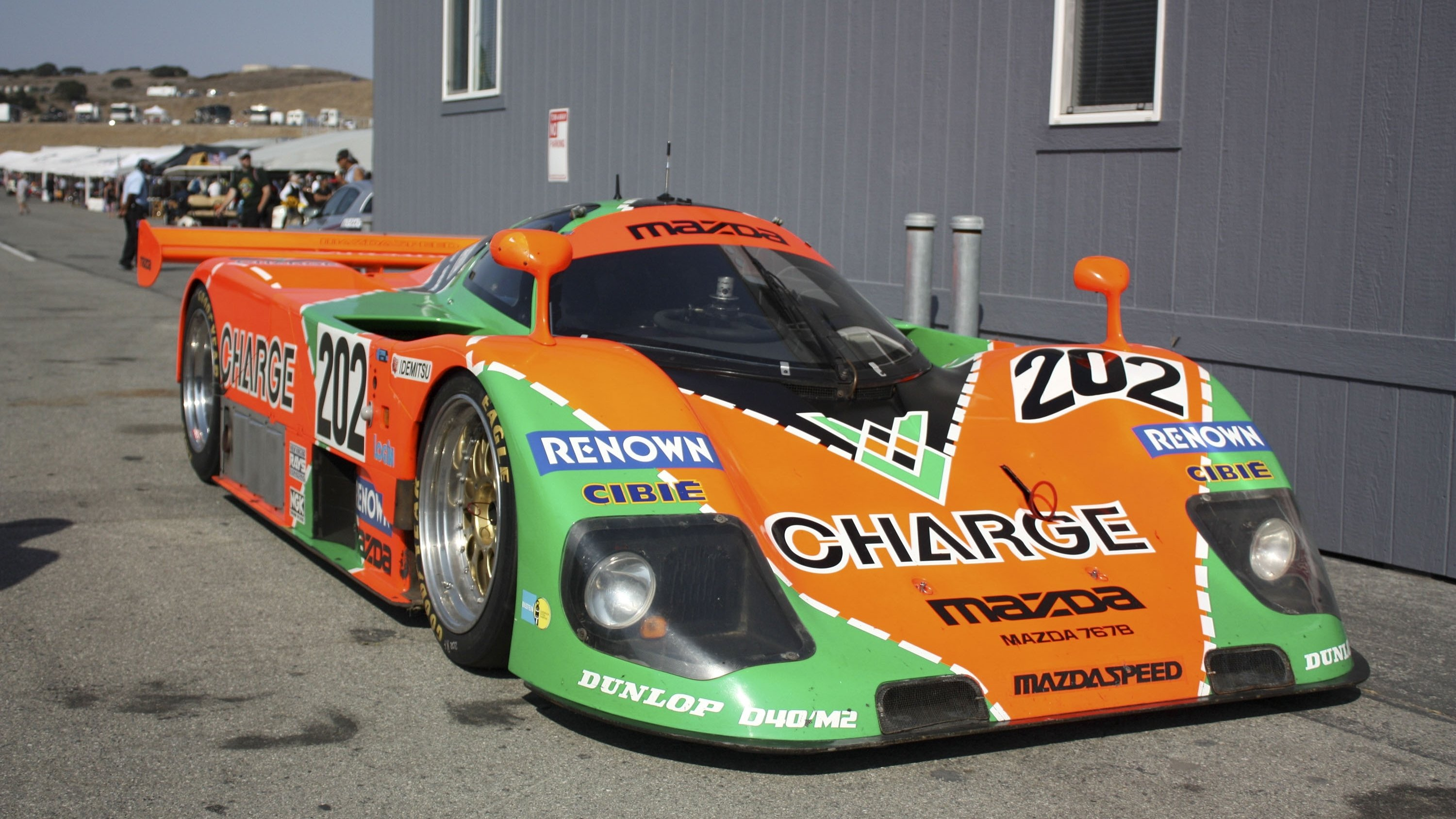 The Mazda 767 was developed for the 1986 season…
