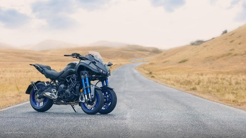 Yamaha is stepping up their game with the production ready 2018 Niken. Exterior - image 740903