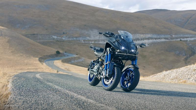 Yamaha is stepping up their game with the production ready 2018 Niken. Exterior - image 740905