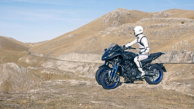 Yamaha released more specification info on the three-wheeled Niken