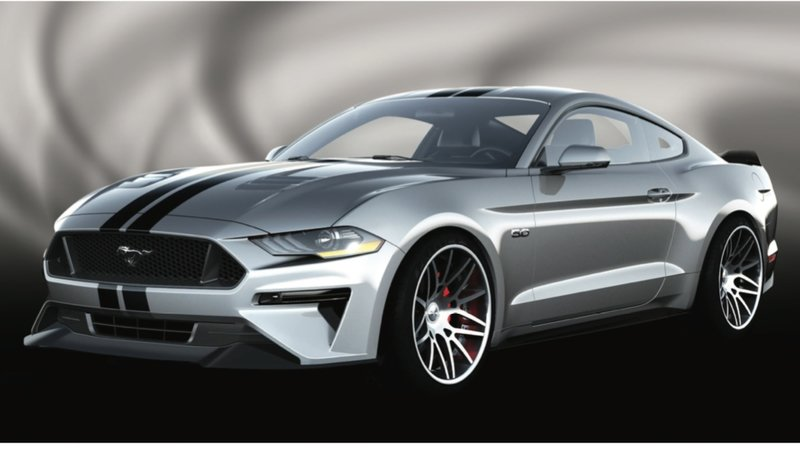 2018 Ford Mustang By Air Design