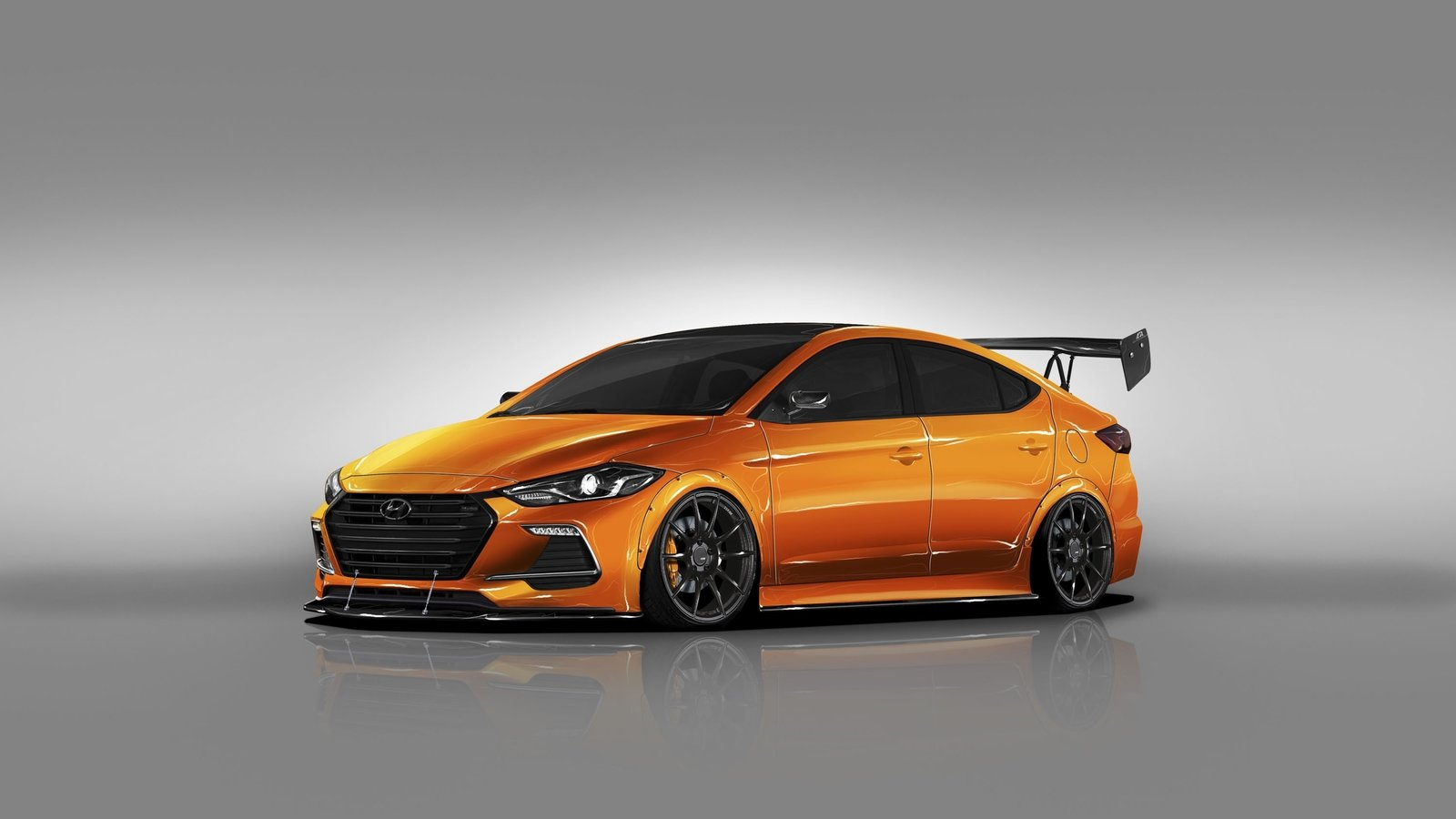 2017 hyundai btr edition elantra sport concept pictures. Black Bedroom Furniture Sets. Home Design Ideas