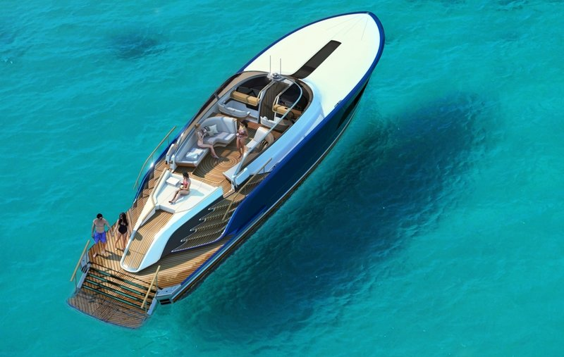 2018 Aeroboat S6 Exterior Computer Renderings and Photoshop - image 739793