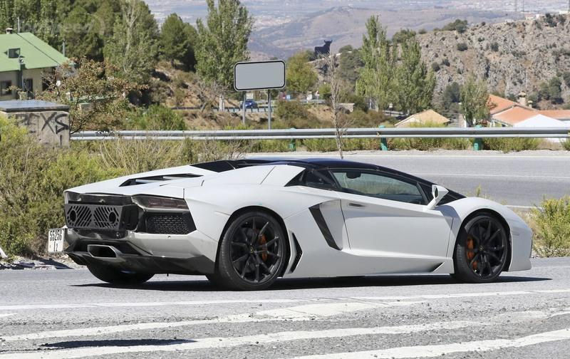 Must Know Facts About the Lamborghini Aventador SVJ Spyshots Exterior - image 736237