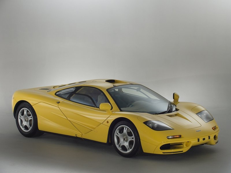 A New But Used McLaren F1 is for Sale and it's like a Wet Dream come True