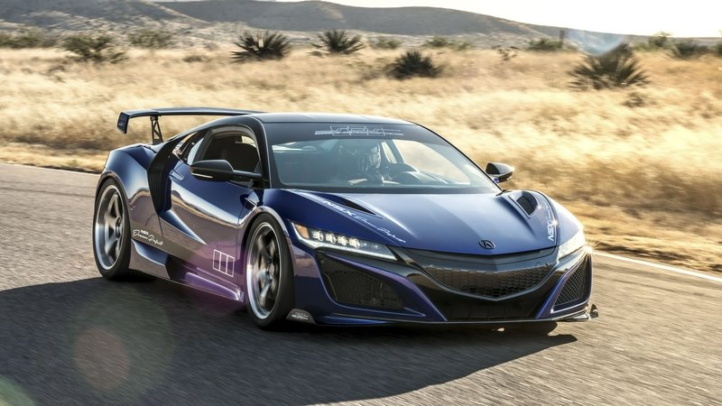 Wallpaper of the Day: 2017 Acura NSX