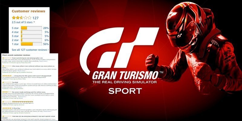 Apparently, Gran Turismo Sport Sucks