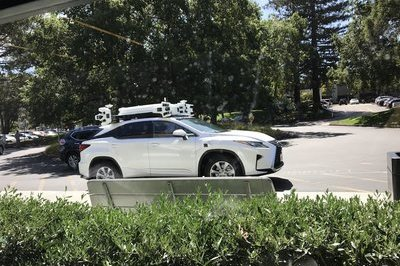 Apple's Self-Driving Lexus Spotted On Public Roads - image 739284