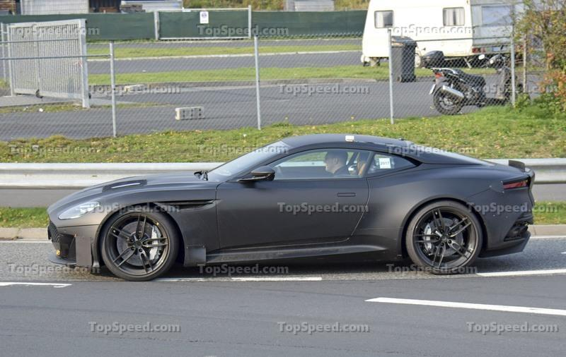 "The Next-Gen ""AM9"" Aston Martin Vanquish Will Offer Something Most Supercars Don't Have These Days Spyshots Exterior - image 739088"