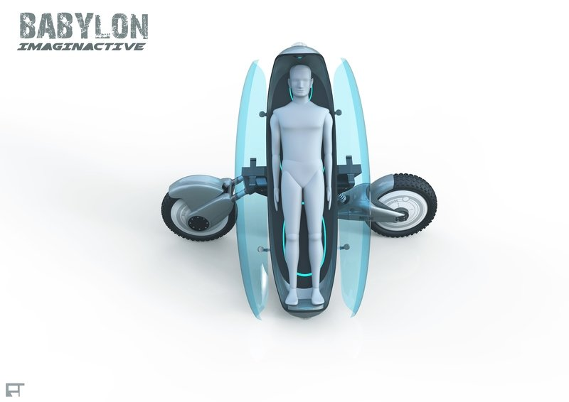 Imaginative Teases With Concept Hybrid Medic-Drone-Bike - image 739428