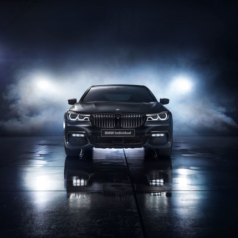 2017 BMW 7 Series Individual Black Ice Edition