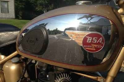 Pristine 1953 BSA A10 'Golden Flash' Becomes Museum Piece